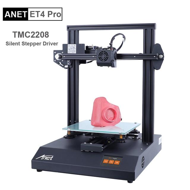 Anet ET4/ET4 Pro 3Dเครื่องพิมพ์สีขนาด 2.8 นิ้วTouchscreen Resume Power Failureการพิมพ์/Filament Detection/ปรับระดับอัตโนมัติ