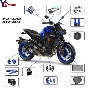 For Yamaha FZ-09 mt-09 MT-09 SP Motorcycle Brake clutch lever hand grips 2014-2019 mt09 FZ 09 FZ09 Radiator Grille Guard Cover