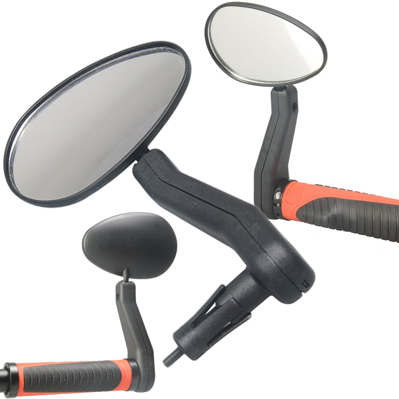 1 Pcs Bicycle Upgrade Handlebar View Mirror Bike Rear View Inverted Mountain Bike Left Or Right