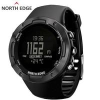 NORTH EDGE Men's sport Digital watch Hours Running Swimming sports watches Waterproof 50 Altimeter Barometer Compass Weather men