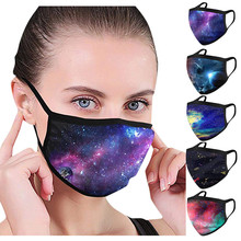 Universal Cotton Thick Breathable Reusable Dust-proof Sports Outdoors And Smog-washable maskers For Adults In Europe And America cheap face mask masca as describe cloth