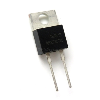 5pcs/lot RHRP30120 RHR30120 and 30A 1200V Hyperfast Diode TO-220-2 In Stock - discount item  8% OFF Active Components