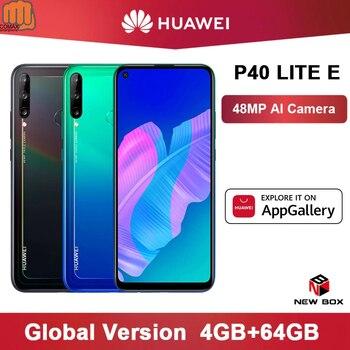 Перейти на Алиэкспресс и купить Глобальная версия Huawei P40 lite E 4 Гб 64 Гб Смартфон 48 МП AI камеры 6,39 дюймов FHD экран Kirin 710 Восьмиядерный