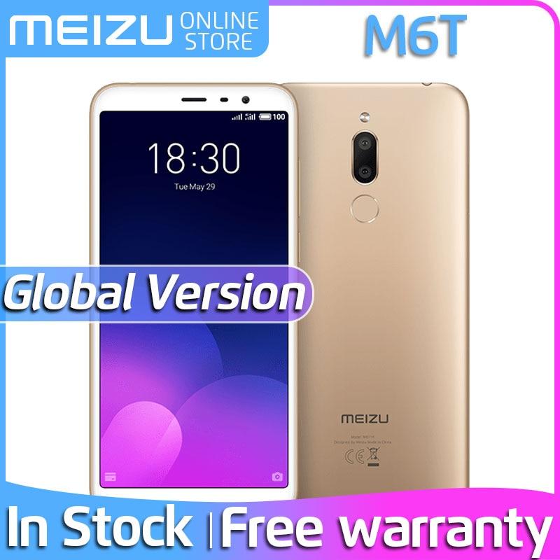 """Original Meizu M6T Global Version 3GB RAM 32GB ROM SmartPhone MTK6750 Octa Core 5.7"""" IPS Screen Dual Rear Camera Meilan M 6T EU"""