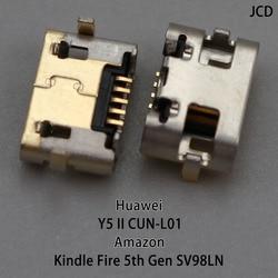 10 pçs para huawei y5 ii y5ii CUN-L01 micro usb jack porto de carregamento conector do carregador tomada de alimentação doca substituição reparo