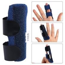 Finger Mover активность прямой палец защита рукав бинт для фиксации при переломах шина домашнее улучшение шина Finger mover fit пальцы
