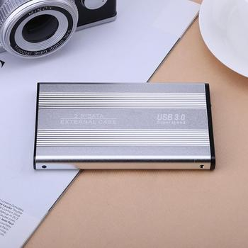 Portable External Case for 2.5in USB 3.0 to SATA Mobile Hard Disk Drive for Laptop Hard Drive Box Case Dropshiping High Quality