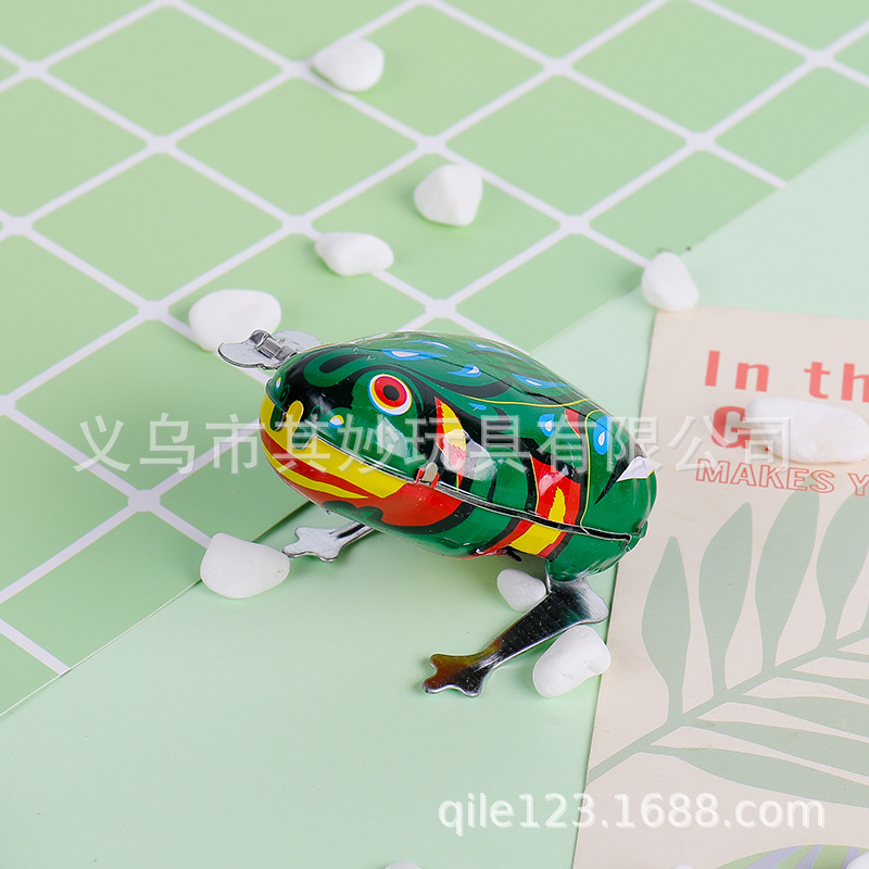 Classic Algam Frog Winding Toy Frog 80 The Memory After Spring Frog Baby Toy