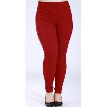 Stretch leggings for women high waist women pencil pants capris white black femme trousers plus big size 5xl 6xl ladies pantalon
