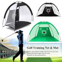 Golf Training Set 2M Foldable Golf Practice Net Mat Portable