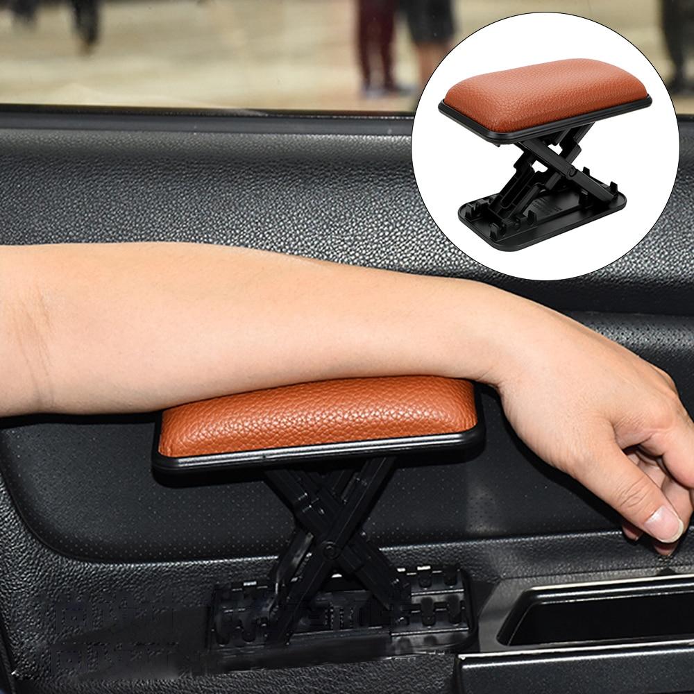 Car Armrest Cushion Anti-fatigue Elbow Support Door Armrest Pad Main Driver Position Left Armrest Arm Protective Pad