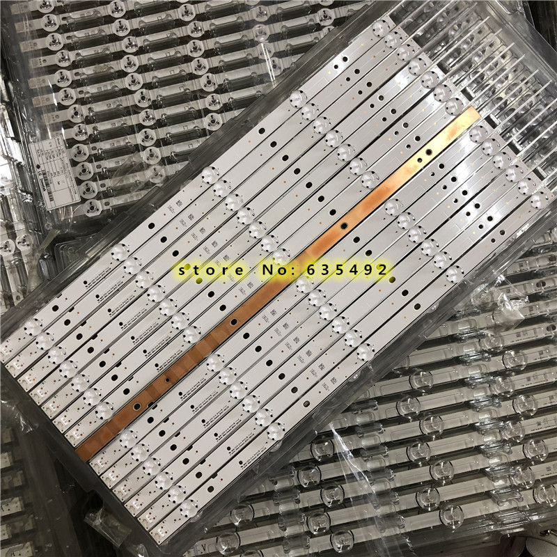 Tira de luz fundo led 5 lâmpada para lg innotek 49 polegada tv panasonic TX-49DS500B TX-49DS500E tzlp151khab6 tzlp151khab1 TX-49DS500B