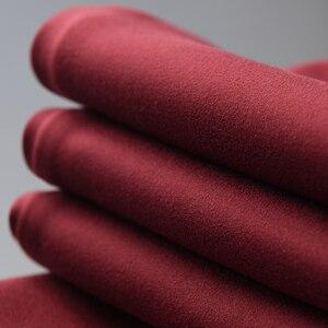 Image 5 - Minglu אדום Mens מכנסיים יוקרה רוכסן כיסים מוצק צבע מזדמן ספורט איש מכנסיים סתיו וחורף Slim Fit Man מכנסיים 4XL