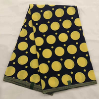 High Quality 100% cotton African printed java wax fabrics 6 yard,beautiful african java wax print fabric for dress!OT 4432