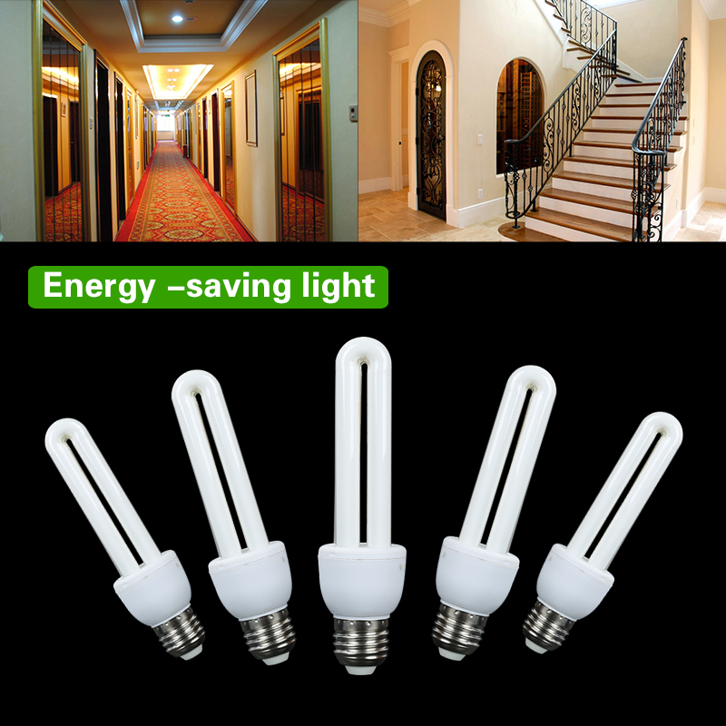 Energy Saving Light Bulbs 5W 9W 11W 15W 20W Low Energy Light Bulbs Power Saving CFL Stick Light Bulbs E27 Lamps Bulb White Light
