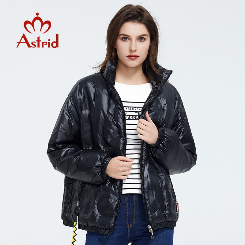 Astrid 2020 Spring Coat Women Warm Thin Cotton Short Loose Parka Casual Fashion Female High Quality Outwear Trend Jacket ZR-3019