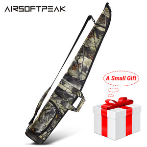 Image 1 - AIRSOFTPEAK Funda de pistola militar, bolsa de Rifle de táctica, camuflaje para exteriores, accesorios de caza ocultos, fundas de transporte para armas de tiro de 130CM