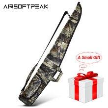 AIRSOFTPEAK Gun Fall Military Tactical Rifle Bag Outdoor Camouflage Verdeckte Jagd Zubehör Schuss Pistole Tragen Holster 130CM