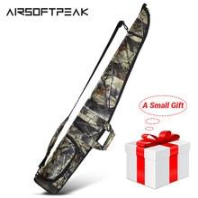 Airsoftpeak Súng Ốp Lưng Chiến Thuật Quân Đội Súng Trường Túi Ngoài Trời Ngụy Trang Che Khuyết Điểm Săn Bắn Phụ Kiện Bắn Súng Mang Theo Bao Da 130 Cm