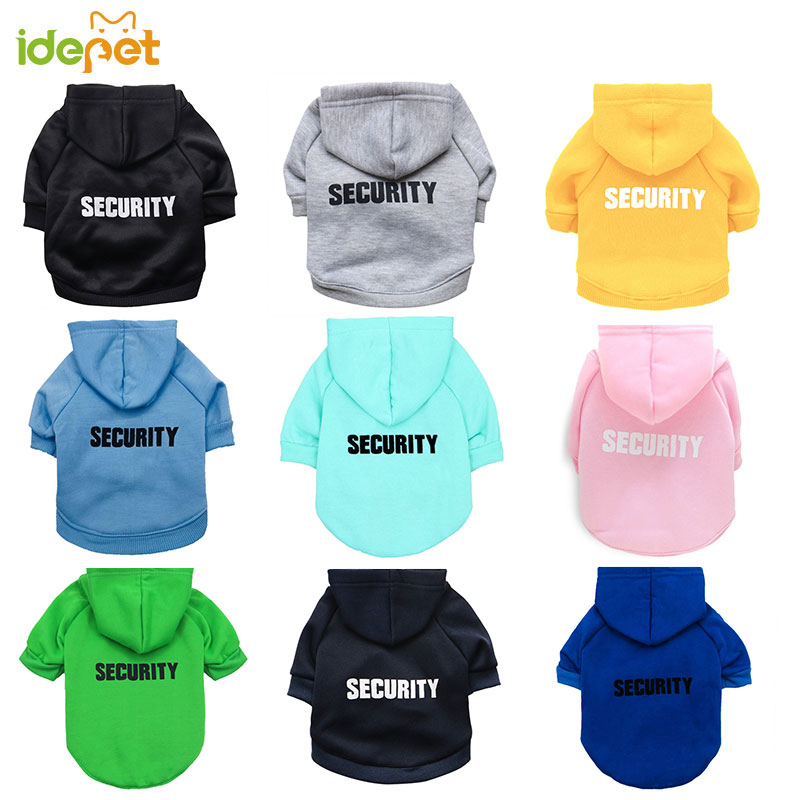 133.0¥ 30% OFF Security Cat Clothes Pet Cat Coats Jacket Hoodies For Cats Outfit Warm Pet Clothing ...