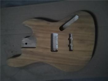 Afanti muzyka DIY gitara zestaw DIY gitara elektryczna ciała (MW-3-557) tanie i dobre opinie none not sure Nauka w domu Do profesjonalnych wykonań Beginner Unisex CN (pochodzenie) Drewno z Brazylii Electric guitar