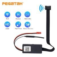 1080P Mini Wifi Camera HD wifi P2P Record video Motion Detection remote control night vision alarm messag mini body hidden spy