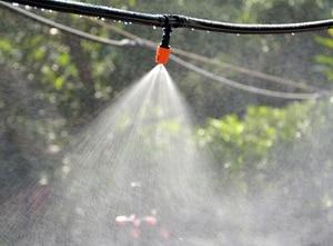 Image 5 - 40m בטפטוף השקיה ערכת, פטיו צמח השקיה ערכת גן חקלאות חממה ערפל קירור השקיה מערכת אוטומטית מיקרו Fl