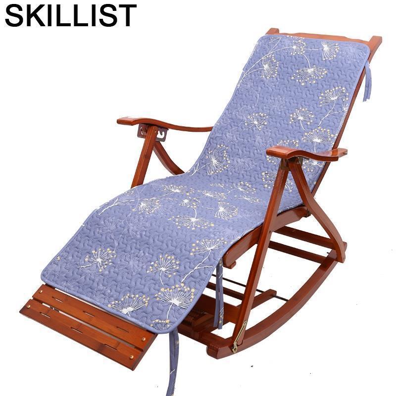 Bed Divani Chaise Bureau Rocking Bamboo Sillones Moderno Para Sala Fauteuil Salon Sillon Reclinable Cama Plegable Recliner Chair