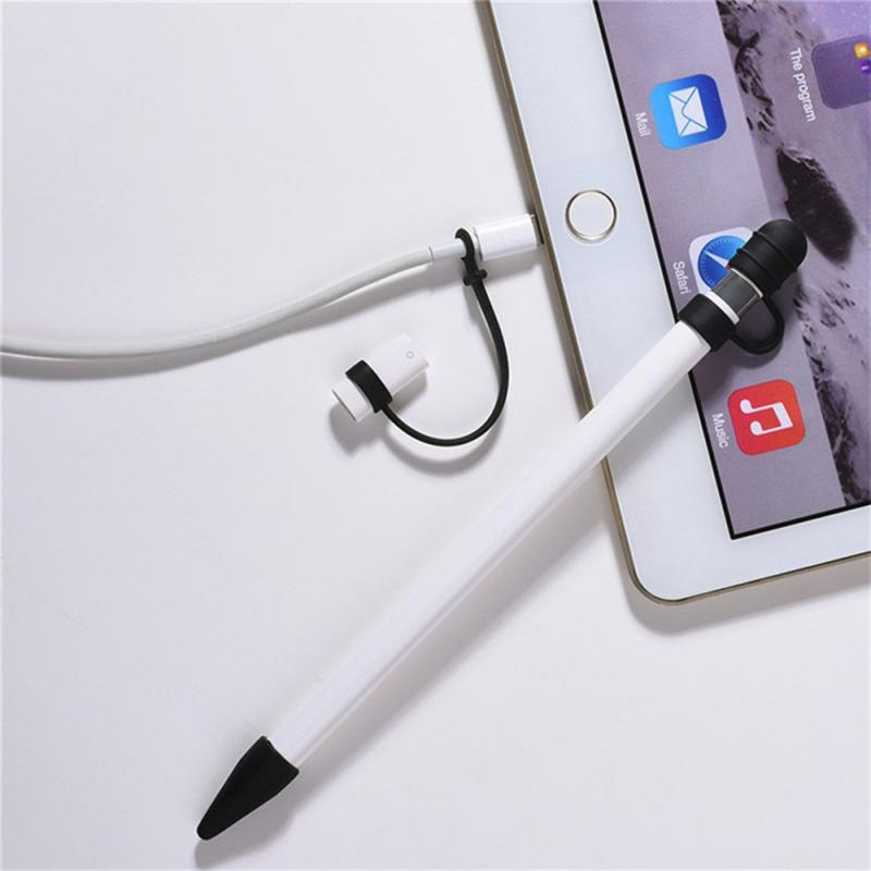 For Apple Pencil Case IPad Pro Pencil Case Tablet Touch Stylus Pen Protective Cover Pouch Portable Soft Silicon Case