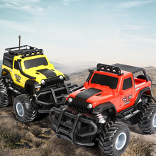 Children's Wireless Remote Control Car Toy Off-road Model Toy Car 4 Channels Resistant Remote Control Vehicle Boy Toy Car Gift