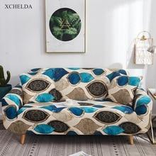 Sillón en forma de L funda de sofá elástica Vintage árabe único amor 3 4 plazas esquina seccional cubierta elástica de sofá para sala de estar