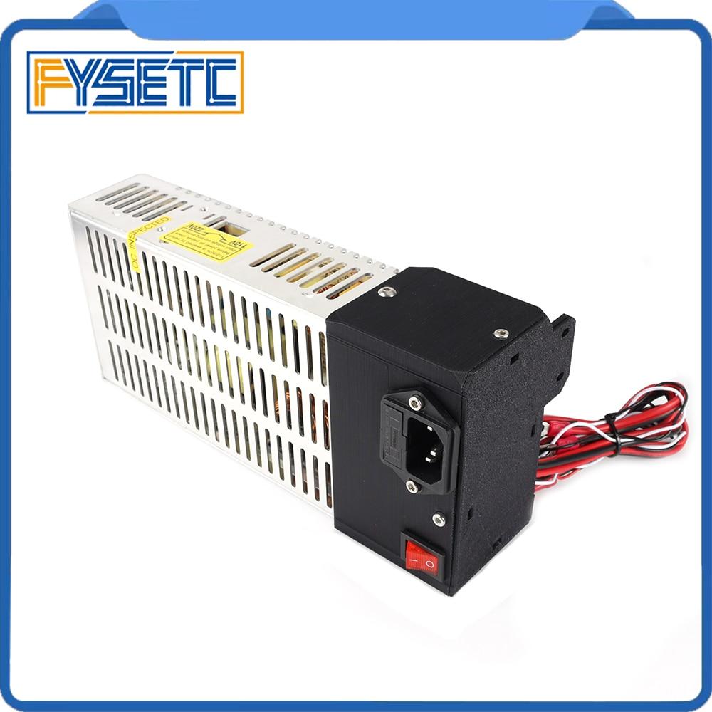 Prusa i3 MK3 PSU Power Supply Kit With Switchable Power Supply PSU 24V 250W For DIY Reprap 3d Printer