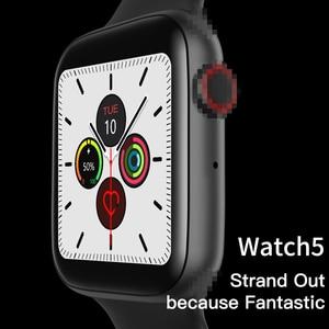 Image 4 - Reloj inteligente Timewolf W34 para hombres y mujeres con pantalla táctil y presión arterial reloj inteligente Multifonction IP68 Android para Iphone IOS
