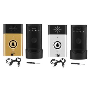 Image 5 - Wireless Voice Intercom Doorbells Two way Talk Door Bell timbre inalambrico Home Intercom Doorbell Security System free shipping