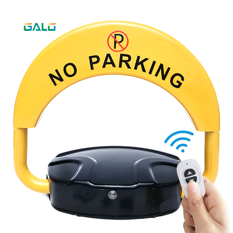 Free 1pc Mask Manufacturer Automatic Car Park Barrier Lock In Parking Equipment Parking Barrier  Blocker Anti Parking Automatic