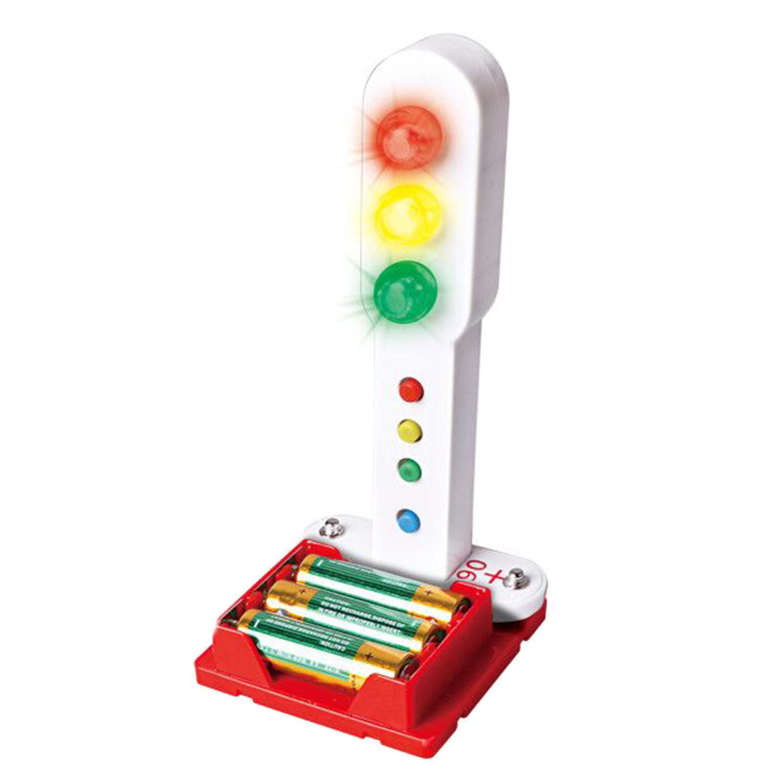 DIY Programmable Traffic Lights Electronic Circuits Science Experiment Kit For Children High Tech Pagoda + Christmas Tree