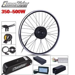 Image 1 - MXUS ebike Kit комплект для переоборудования электрического велосипеда Hailong аккумулятор 350 Вт 500 Вт 36 В Ач 48 в 17 Ач 52 в 17 Ач 15F 15R XF ЖК дисплей двигателя
