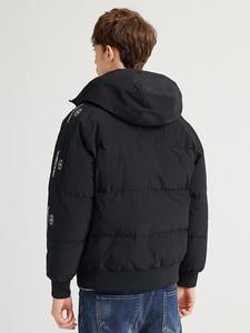 Image 4 - Pioneer Camp Fashion Men Winter Duck Down Jacket Solid Warm Simple Waterproof Zipper Pocket High Quality Jackets Men AYR903431