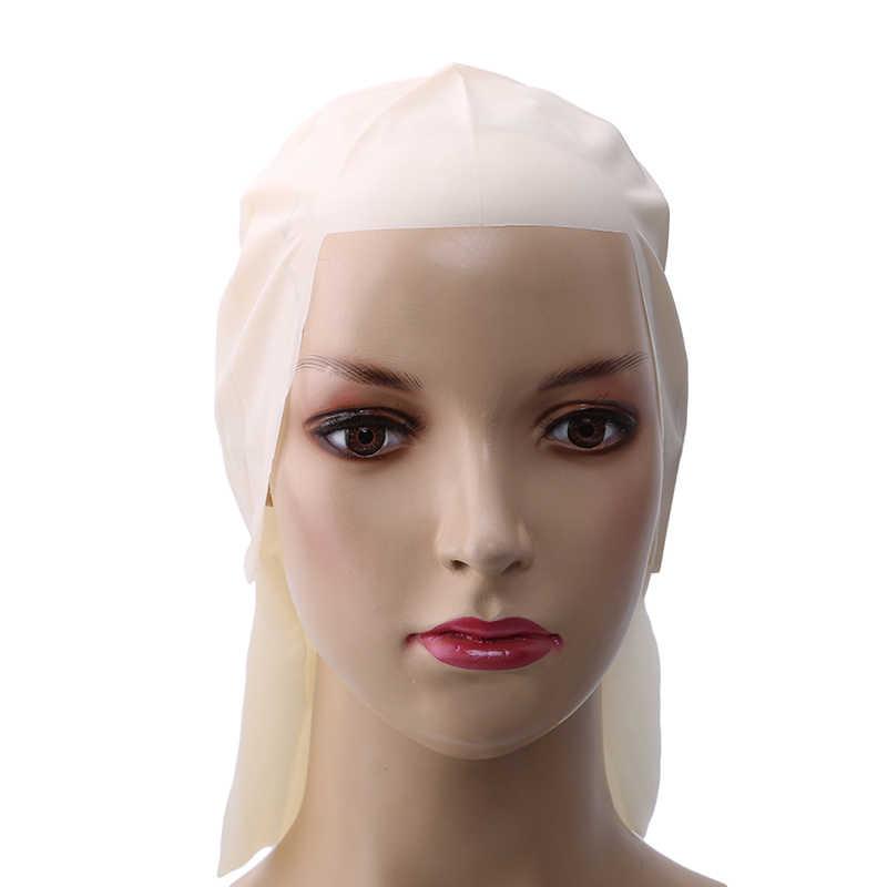 30 см ширина смешной, латексный поддельные лысые головы унисекс Необычные фильм вечерние платья Skinhead парик cap