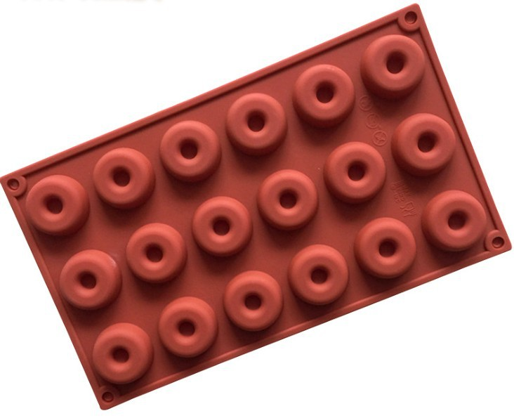 DIY Biscuit Chocolate Mold Family A Baked Treats Mould Pastries Mode 18 Even Silicone Donut Mold