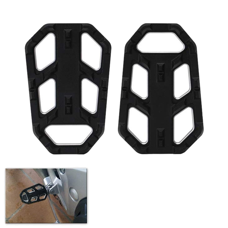 Motorcycle Folding Footrests Footrest Passenger Foot Set For For Honda CB500X CB500 1998-2012 2013-2017 Non-Slip Widened Pedal