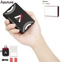 Aputure AL MC Photography Lighting Portable LED Light 3200K 6500K RGB HSI/CCT/FX Lighting Video Light Selfie for Canon Nikon