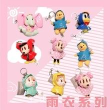 цена на Genuine Disney Mickey Minnie Mickey Mouse Plush Toy Doll Donald Duck Pooh Bear Dumbo Bag Pendant Keychain Decoration Toy Gift