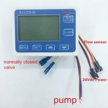 Nieuwe ZJ LCD M Flowmeter Kan Sluit Pomp Of Klep & Flow Sensor Controle Lcd Display Kwantitatieve
