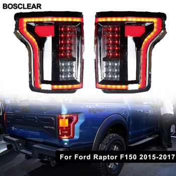 2pcs Led Rear Left/Right Tail Smoked Rear Tail Lights Lamp for Ford Raptor F150 2009 2010 2011 2012 2013 2014 2015 2016 2017