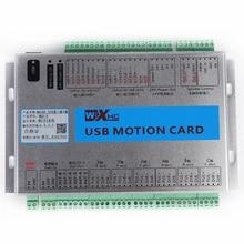 цены на Free ship!! XHC MK6 CNC Mach3 USB 6 Axis Motion Control Card Breakout Board  в интернет-магазинах