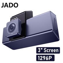 JADO 2020 nowa kamera samochodowa D320C DVR IPS kolorowy ekran kamera samochodowa 24H Monitor do parkowania kamera jazdy wideorejestrator samochodowy kamera samochodowa tanie tanio CN (pochodzenie) Other Przenośny rejestrator Klasa 10 105 °-140 ° Samochód dvr 1920x1080 Wewnętrzny G-sensor Zoom cyfrowy