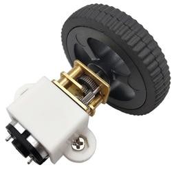N20 мотор-редуктор постоянного тока 3V/6V/12V N20 Мини Микро Металлический мотор-редуктор с игрушка колеса 15 об/мин до 500 об/мин Реверсивный для DIY р...