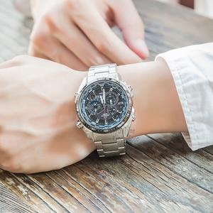 Image 5 - Đồng hồ Casio Edifice đồng hồ nam sang trọng không thấm nước chronograph đồng hồ đeo tay nam đồng hồ đeo tay thạch anh quân đội Đồng hồ đua Quà tặng đồng hồ thể thao cho nam 5 động cơ độc lập Tough Solar часы мужские