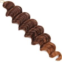Hair Braids Crochet Hair Curly Synthetic
